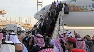 Saudi diplomats return from Tehran