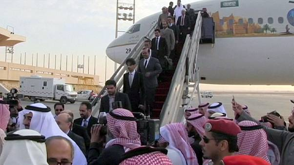 Saudi diplomats return from Tehran