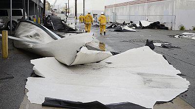 ElNiño storms lash drought-stricken California