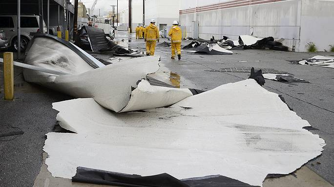 El Niño llega con fuertes lluvias al sur de California