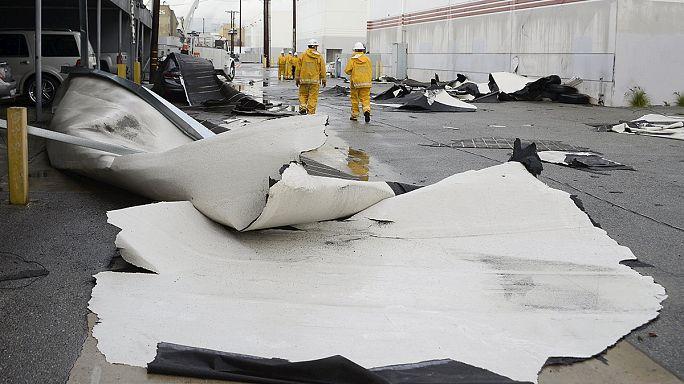 El Nino Kaliforniya'yı vurdu