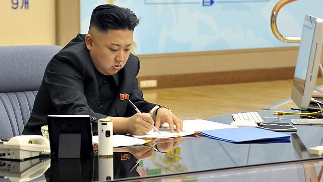 Pyongyang bombayı patlattı