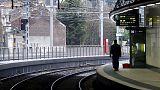 بلجيكا: عمال السكك الحديدية يبدأون إضرابا عن العمل لمدة 48 ساعة