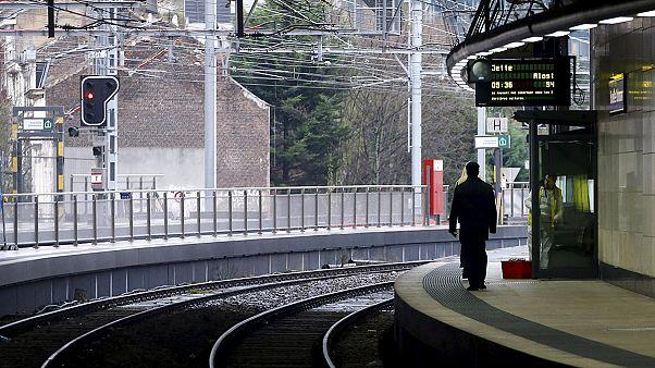 Los sindicatos ferroviarios del sur de Bélgica han comenzado una huelga de 48 horas