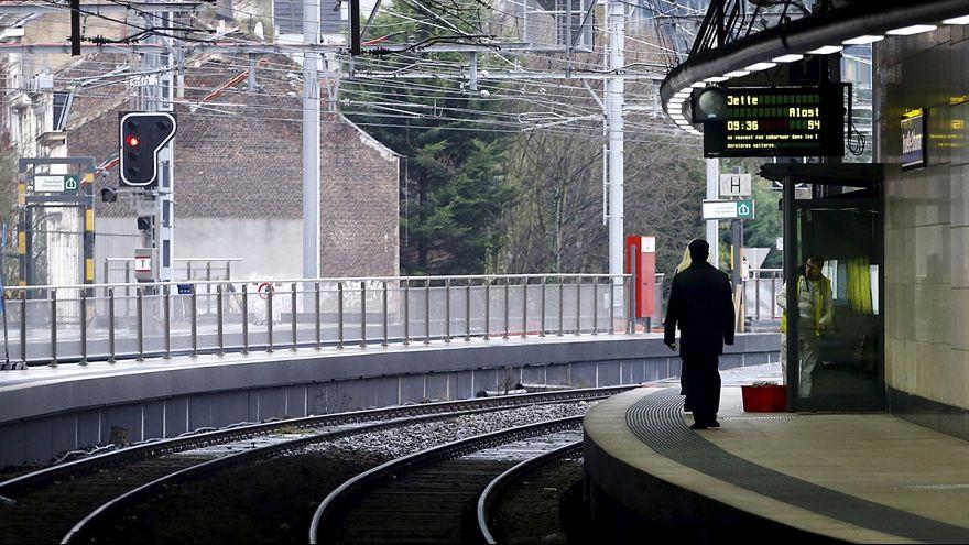 Во франкоязычной Бельгии не ходят поезда
