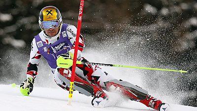 Hirscher remporte le slalom de Santa Caterina