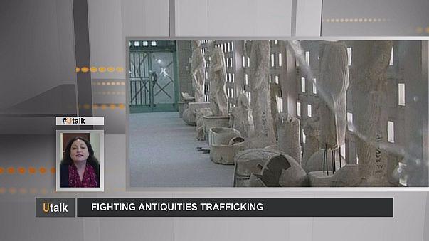 ¿Cómo luchar contra el tráfico de antigüedades?