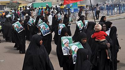Shiite Women call for the release of Sheikh El-Zakzaky