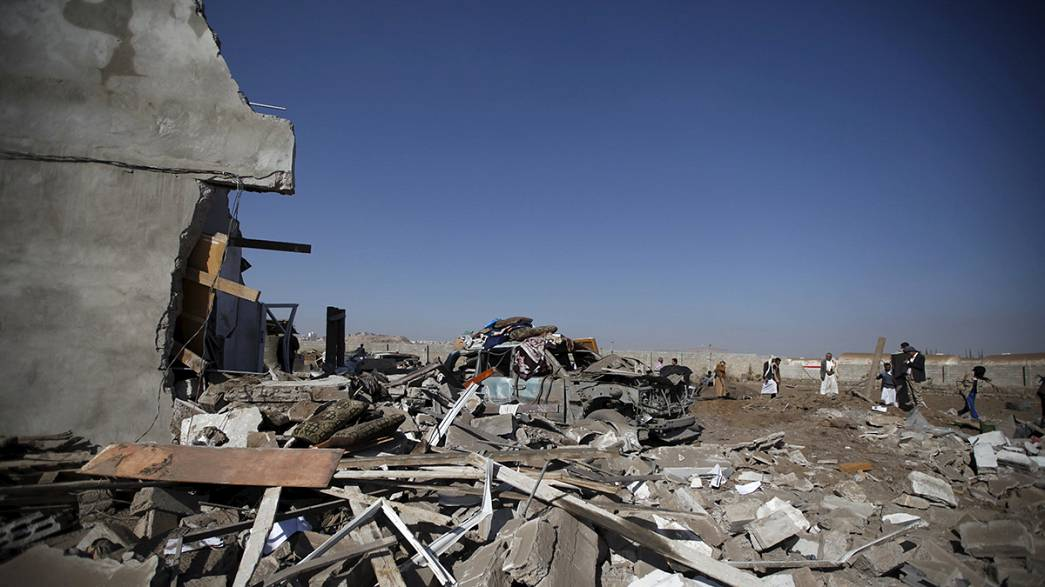 Iémen: Sauditas atacam centro para invisuais