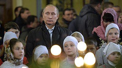 Cristãos Ortodoxos celebram o Natal