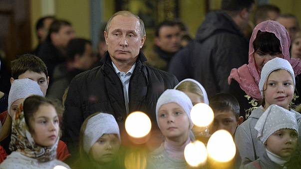 Megkezdődtek az ortodox karácsonyi ünnepek világszerte