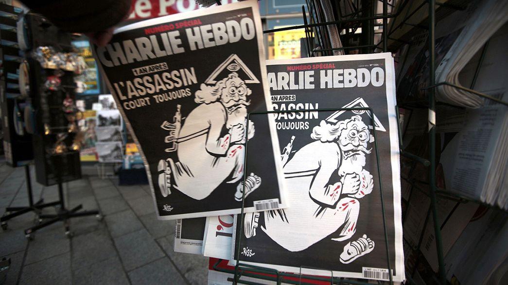 """""""Charlie Hebdo"""" ein Jahr nach dem tödlichen Anschlag"""