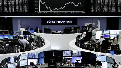 European shares tumble as worries over China intensify