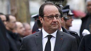 En direct : voeux de F. Hollande aux forces de sécurité, un an après Charlie