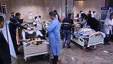 Líbia: legkevesebb 65 halott egy rendőrőrs elleni öngyilkos merényletben