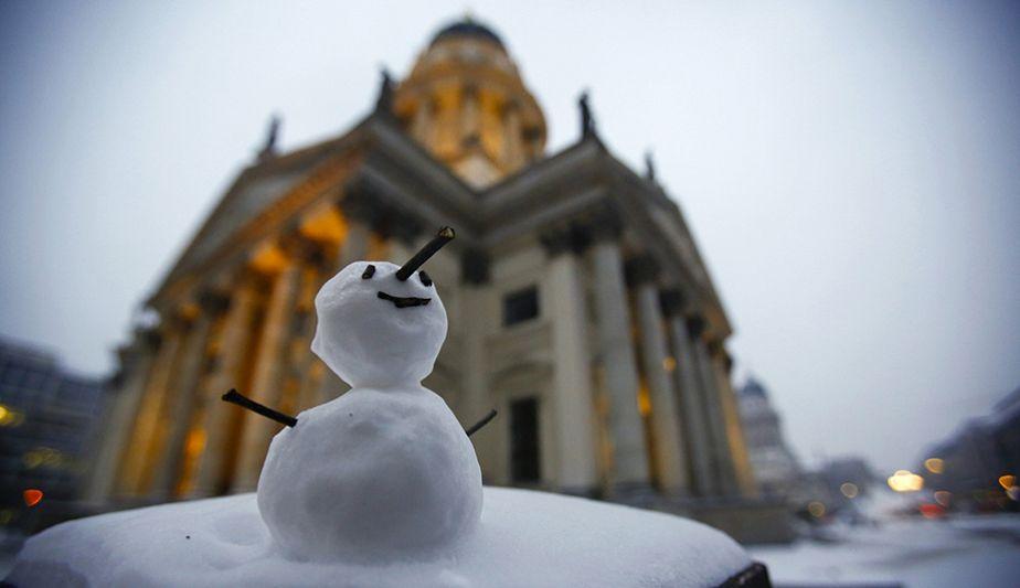 Douceur d'un bonhomme de neige