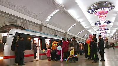 North Korea: new subway train a source of national pride – nocomment
