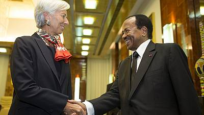 Christine Lagarde talks economic recovery in Cameroon