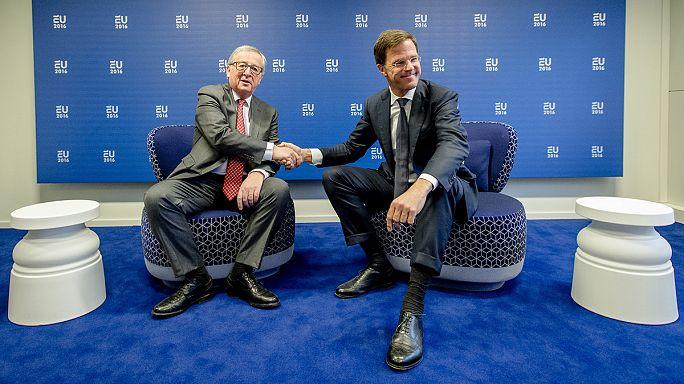 На уме у председателя ЕС Нидерландов - миграция и единство