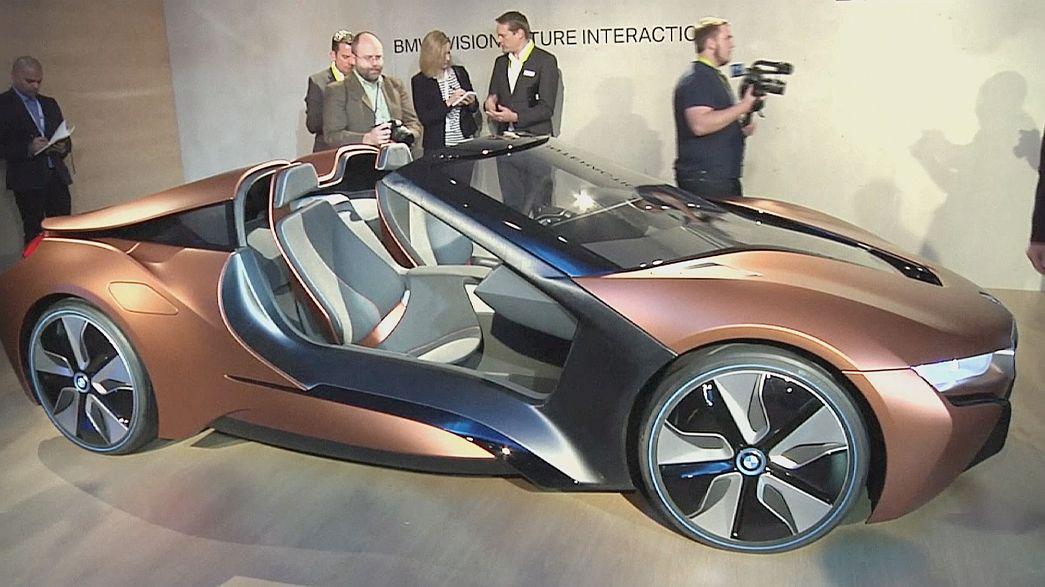 Selbstfahrende Autos auf der Technikmesse CES