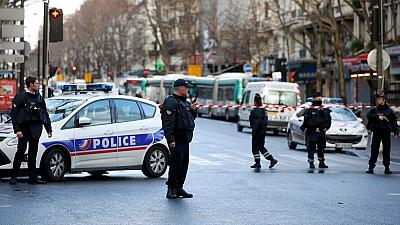 Paris on alert as knife-wielding man shot dead in attempted attack