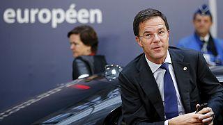 """""""Reforço dos """"hotspots"""" é fundamental para o realojamento de refugiados"""" defende primeiro-ministro holandês"""