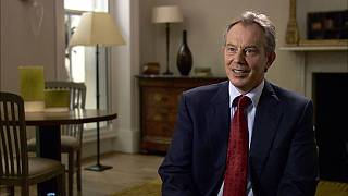 """Run away,"" Blair advised Gaddafi"