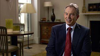 """""""Run away,"""" Blair advised Gaddafi"""