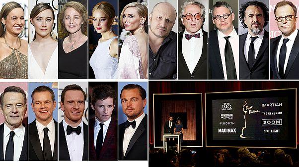 """Стоит ли лауреатам """"Золотого глобуса"""" готовиться к получению """"Оскара""""?"""