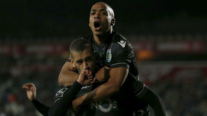"Liga Portuguesa, J16: Sporting ""esmaga"" Setúbal, Benfica ""caça"" FC Porto"