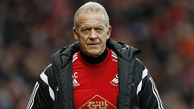 Alan Curtis appointed interim Swansea City manager