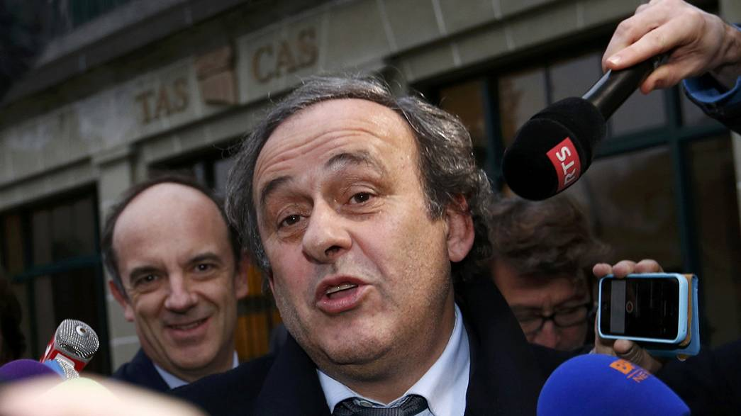 Platini pulls out of FIFA presidential race