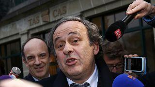 Michel Platini retira su candidatura a la presidencia de la FIFA