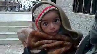Suriyeli çocuklar açlıktan ölüyor