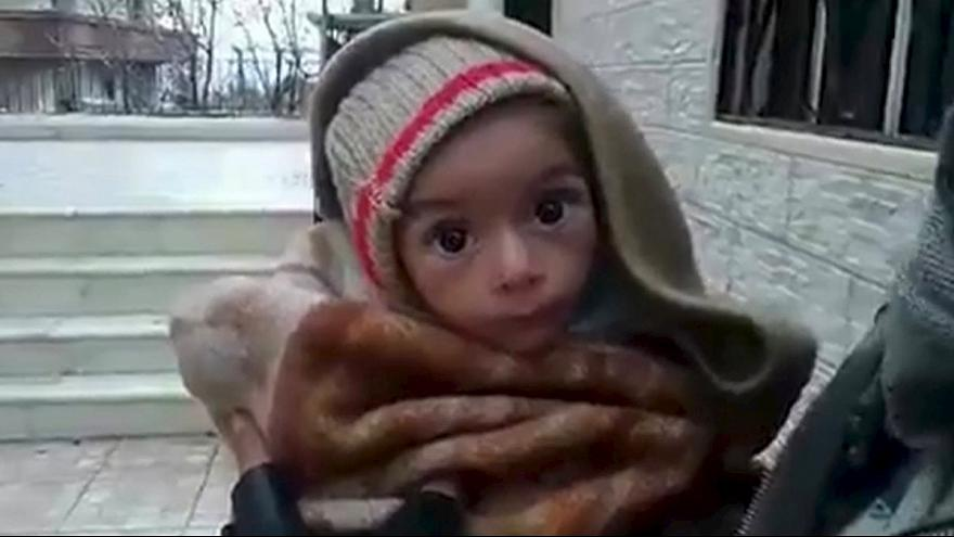Madaya, a town on the brink of starvation, granted  UN food aid by Assad
