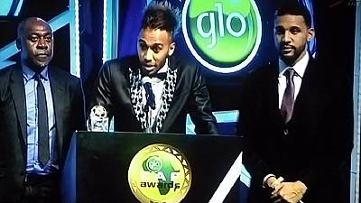 Gabon's Pierre-Emerick Aubameyang crowned 2015 African Player of the Year