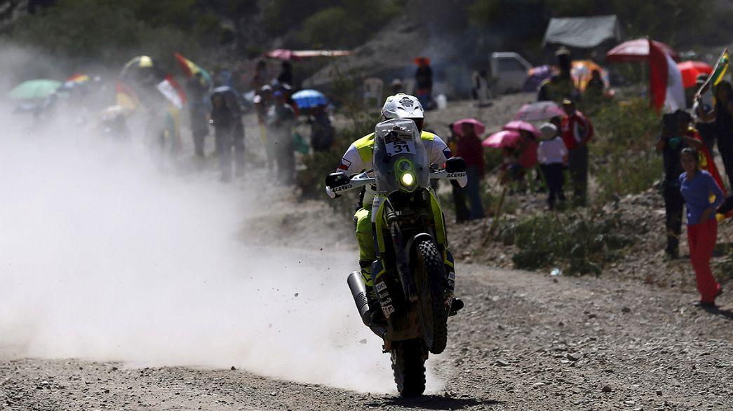 Loeb y Price acaparan el éxito en la llegada del Rally Dakar a Bolivia