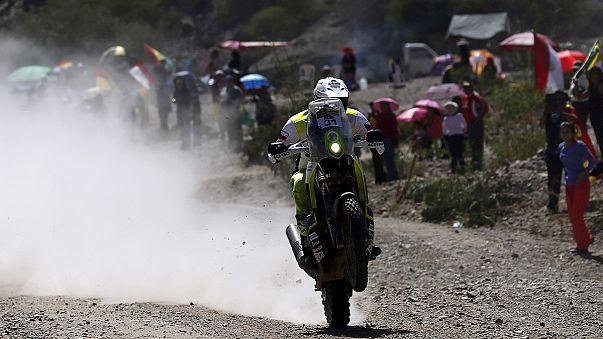الفرنسي سيباستيان لوب يفوز بالمرحلة الخامسة و يتصدر ريادة الترتيب في رالي دكار