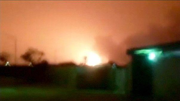 أكثر من 3 مليون برميل نفط تلتهمها النيران في ليبيا ومقتل نحو 70 في اعتداءات انتحارية