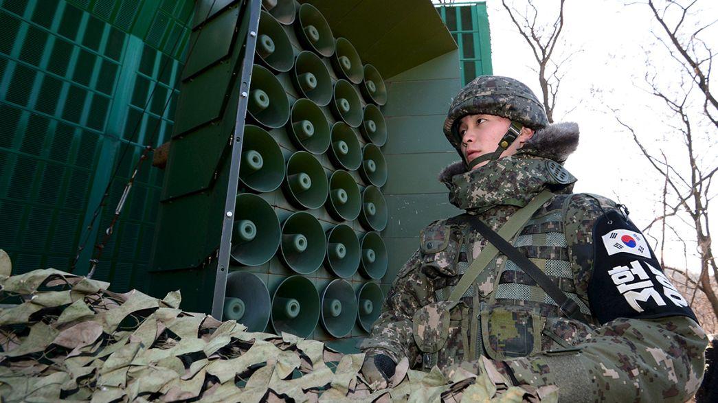 Seúl reactiva sus altavoces tras el ensayo nuclear de Corea del Norte