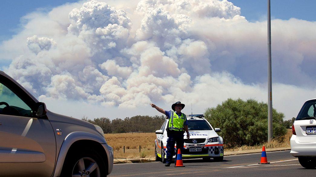 In Australia un villaggio distrutto dagli incendi boschivi