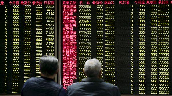 افزایش بهای سهام چین پس از سقوط و تعطیلی بازار بورس