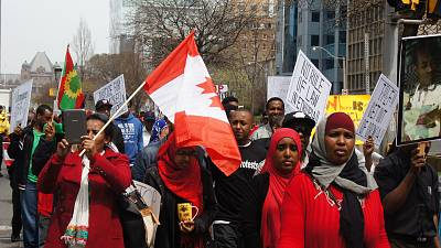 Addis-Abeba responsable de la mort de plus de 100 manifestants, selon Human Rights Watch