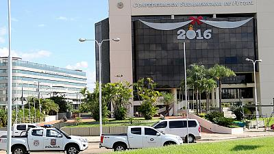 FIFA probe: Paraguay authorities raid CONMEBOL offices