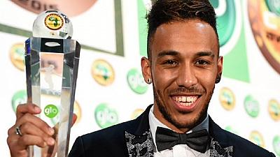 Aubameyang: Happy to be the First Gabonese to win best Africa player Award