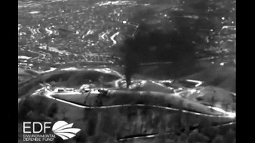 """El """"infierno"""" de los afectados por una fuga masiva de gas metano en California"""
