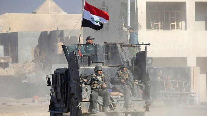 پیشروی ارتش عراق بعد از بازپس گیری رمادی