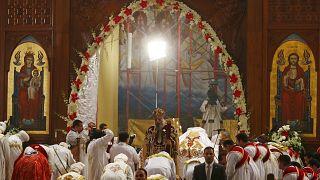 Les chrétiens coptes d'Egypte célèbrent Noël