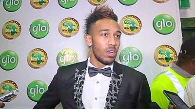 Aubameyang élu joueur africain de l'année