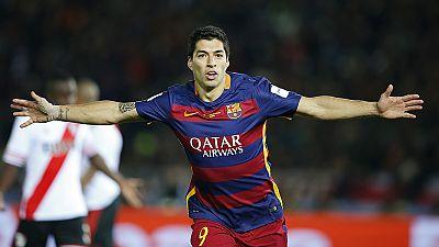 Coupe du roi : deux matches de suspension pour Suarez